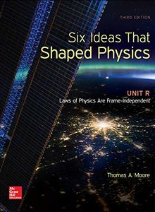 Cover of Create Only: Six Ideas That Shaped Physics: Unit R