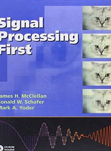 Cover of signal processing first